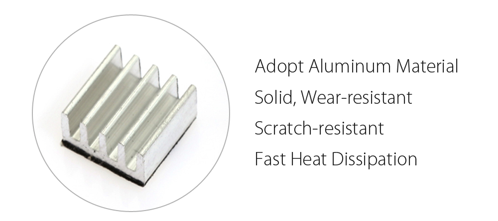 3D Printer Heatsink for A4988 StepStick Stepper Motor Driver Module 5PCS with Viscosity