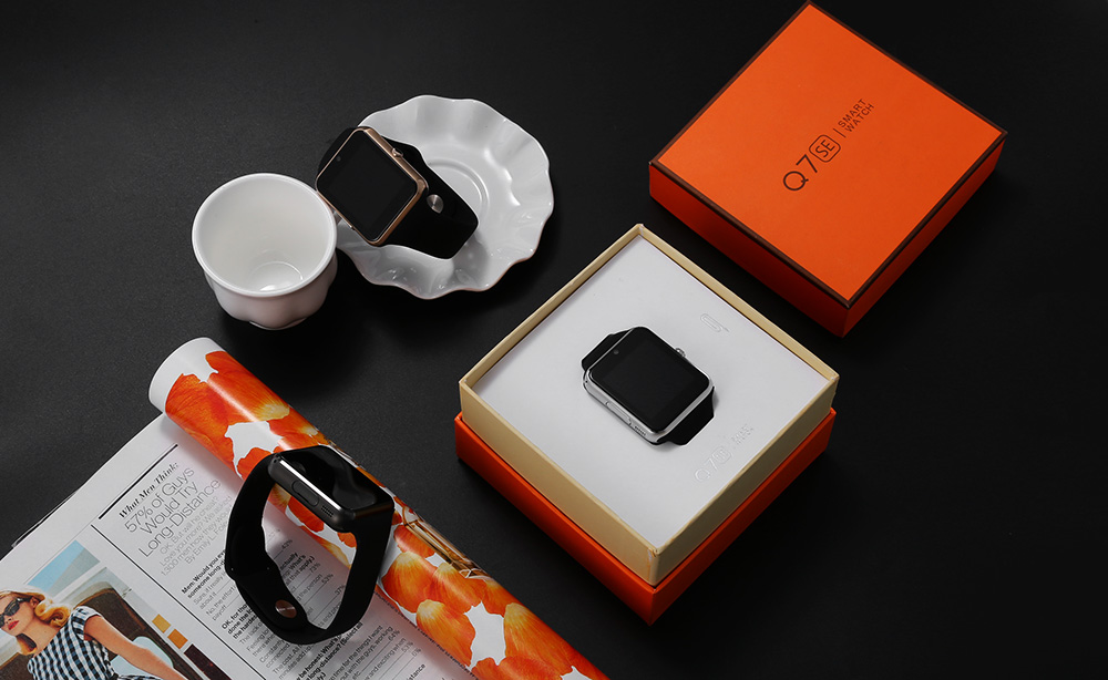 TenFifteen Q7SE 1.54 inch Smartwatch Phone MTK2502 Sleep Monitoring Anti-lost Pedometer GPS