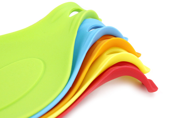 Silicone Spoon Pad Heat Insulation Practical Placemat Drink Glass Coaster Tray