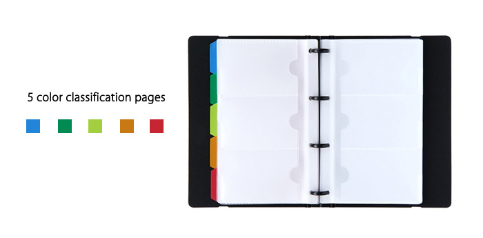 Deli 5778 180 Page Business Card Holder