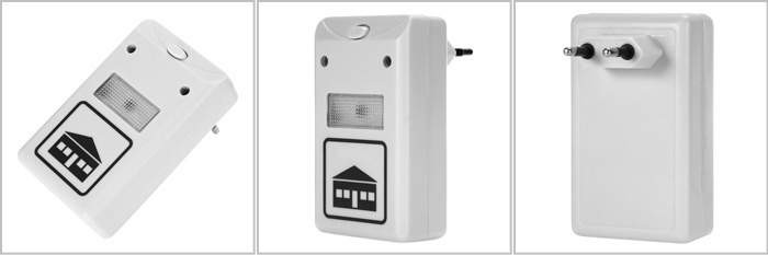 YT - 052 Multi-purpose Electronic Pest Repeller Ultrasonic Mosquito Rejector for Home Office