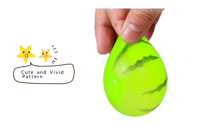 Funny Elastic Squeeze Watermelon Shape Stress Release Vent Relax Toy for Kid