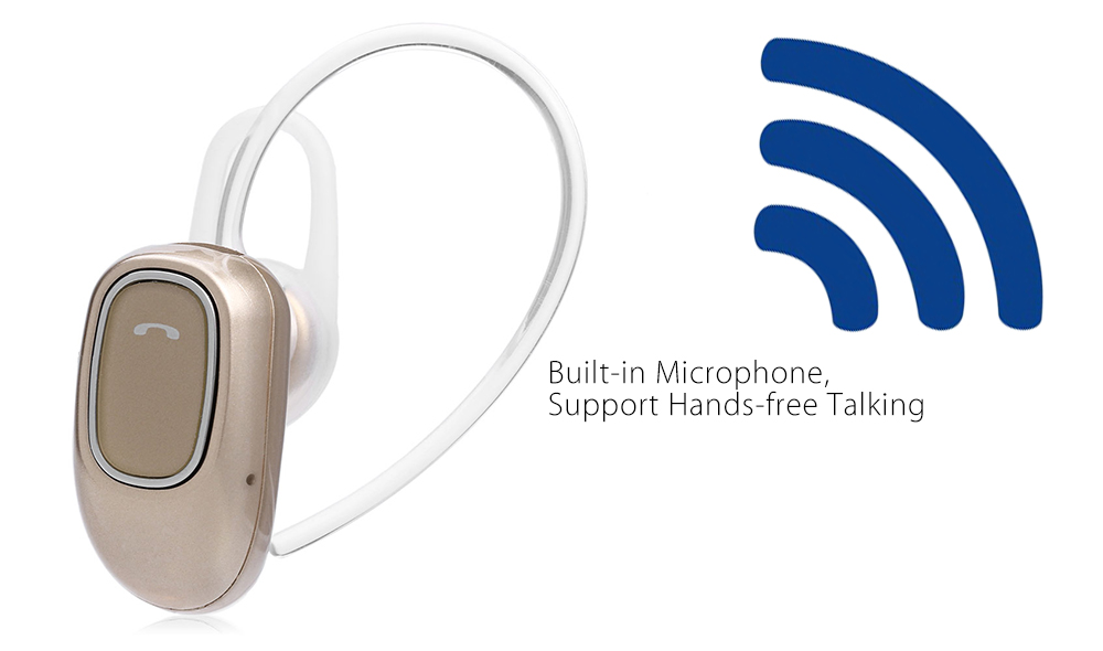 Kilinee K1 Mini Bluetooth Headset with Mic Support Dual Phone Connection