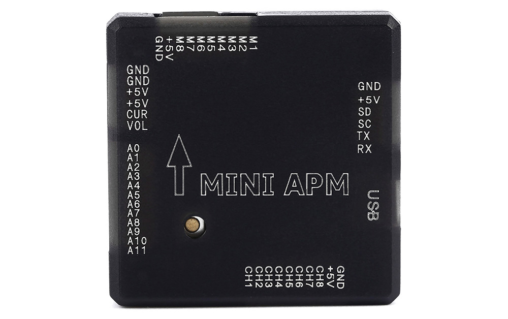 Mini APM V3.1 Flight Controller with Compass / Protector Shell for Multicopter Project