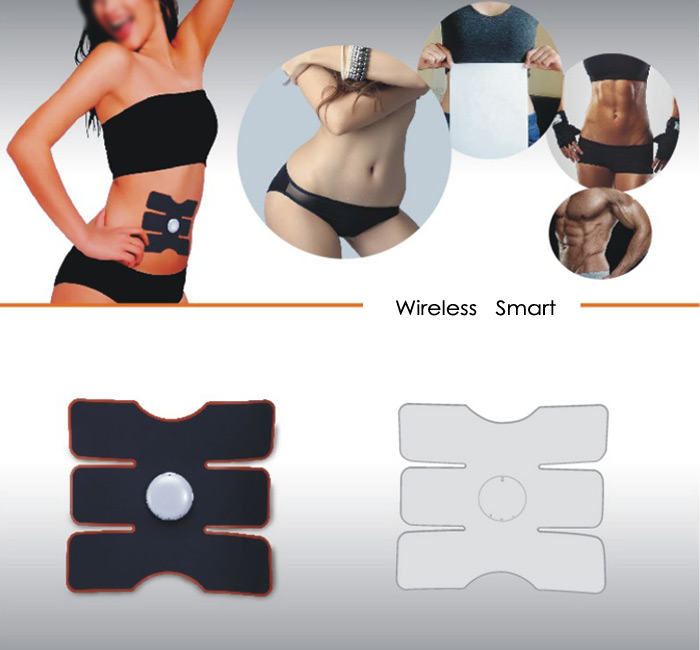 CM - 1502 Smart Electrical Muscle Stimulator Training Gear Abs Fit