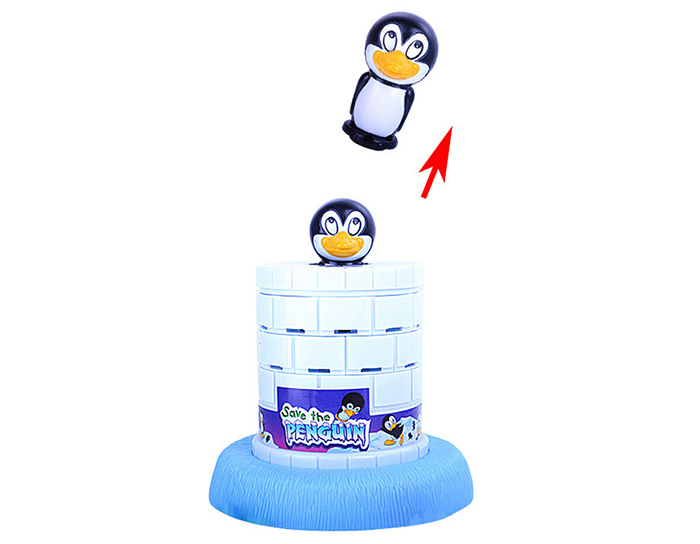 Funny Save The Penguin Game Family Child Interactive Fun Desktop Toy