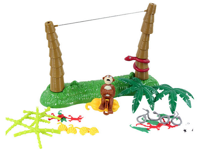 Funny Tightrope Monkey Balance Game Family Child Interactive Fun Desktop Toy