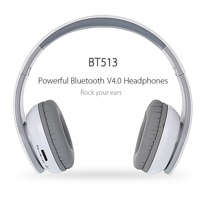 Kinganda BT513 Bluetooth V4.0 Auriculares plegable