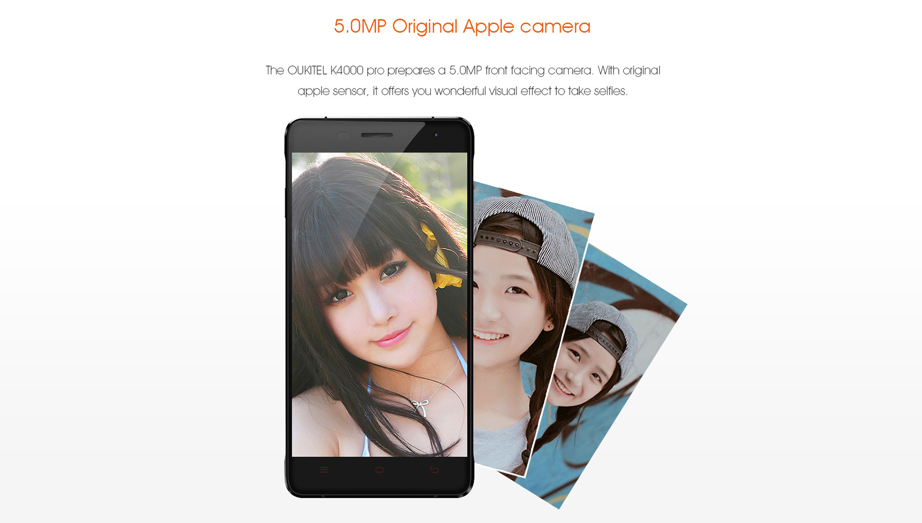OUKITEL K4000 Pro Android 5.1 5.0 inch 2.5D Arc Screen 4G Smartphone MTK6735 1.0GHz Quad Core 1.0GHz 2GB RAM 16GB ROM OTG OTA GPS