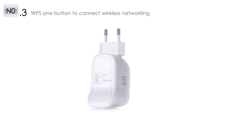 EDUP EP - 2913 300Mbps 2.4GHz Wireless AP / Repeater with Mode Switch / WPS Key