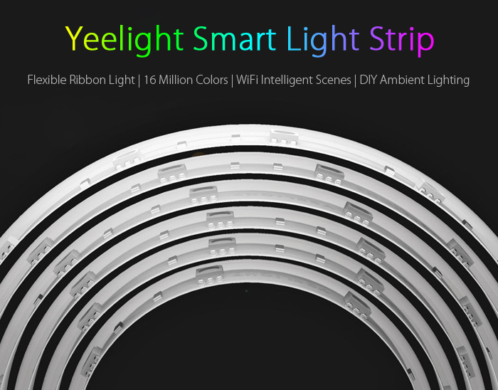 Original Xiaomi Yeelight Smart Light Strip WiFi Control 2M 16 Million Colors