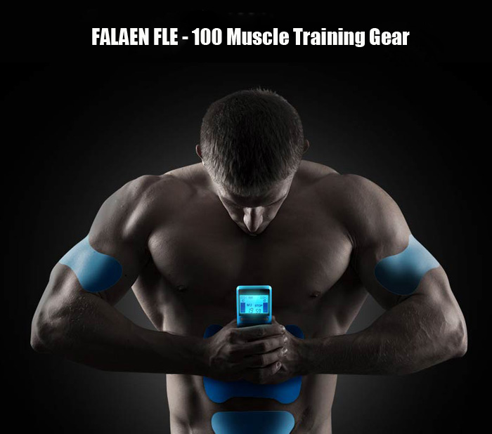 FALAEN FLE - 100 Smart Wearable Muscle Training Gear Auto Body Fit Exercise