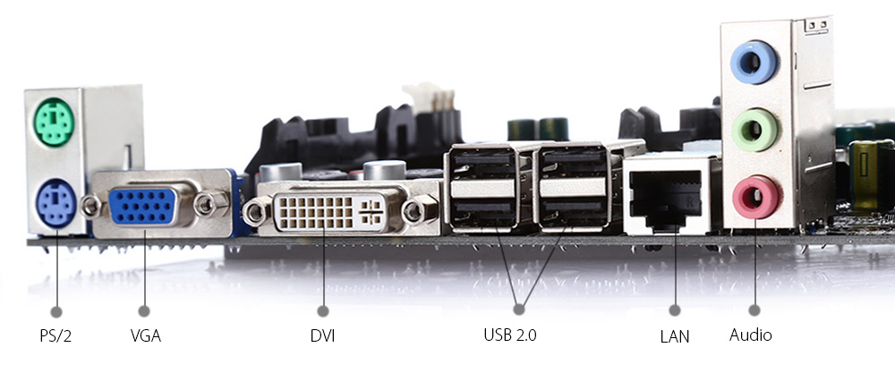 HONGSHUO A55 M-ATX Motherboard AMD CPU 905 Socket Dual-channel DDR3 for DIY Computer Project
