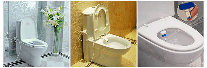 HESHE B8200 Bathroom Smart Toilet Seat Bidet Sanitary Device