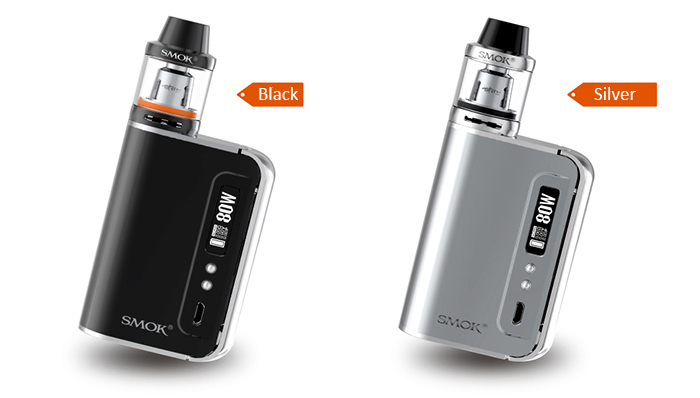 Original SMOK OSUB PLUS 80W TC Mod Kit with 3300mAh / 200 - 600F / Firmware Upgradeable / 3.5ml / 2 x 0.4 ohm / V Shaped Airflow Channel Drip Tip Tank Atomizer Clearomizer for E Cigarette