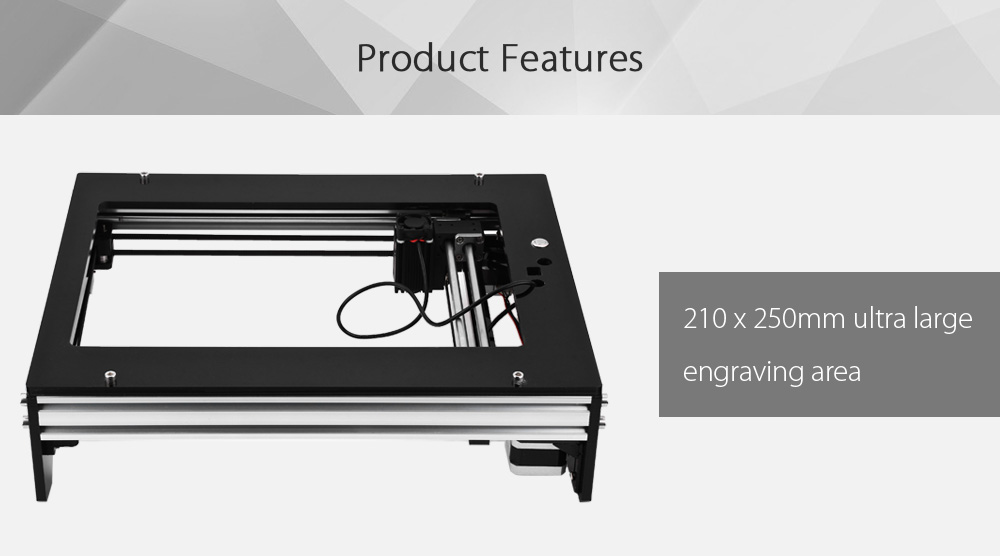 2500mW Miniature Desktop DIY Laser Engraver Support Custom Cycle Sculpture