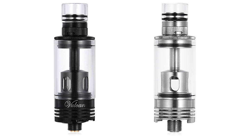 Steam Tribe Mini Vulcan Tank Atomizer Clearomizer with 3ml / 0.5ohm / 1.2ohm / Bottom Filling System for E Cigarette