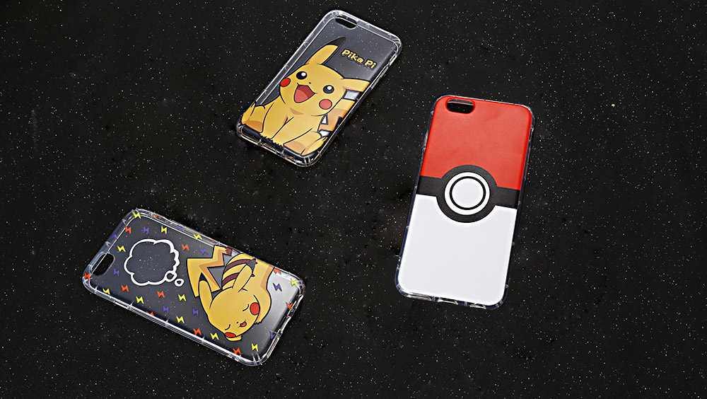 Cartoon Pattern Transparent Style Protective Case for iPhone 6 / 6S Ultra-thin TPU Soft Mobile Shell