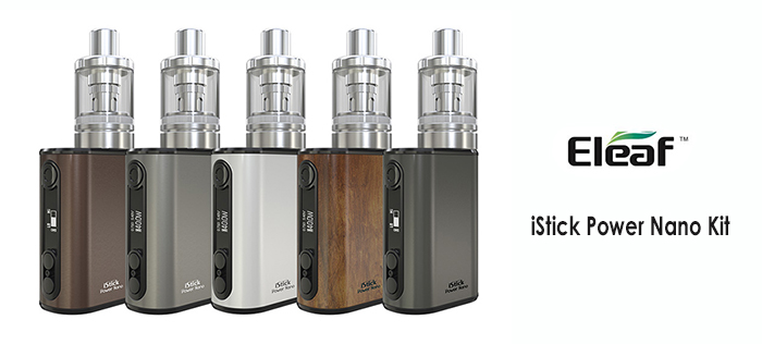 Original Eleaf iStick Power Nano 40W TC Mod Kit with Built-in 1100mAh Battery 2ml MELO 3 Nano Atomizer for E Cigarette
