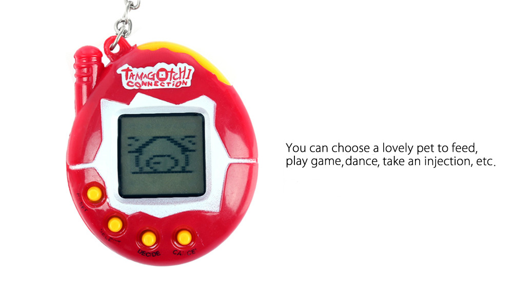 Nostalgic 49 Pets in 1 Electronic Pet Game Toy Funny