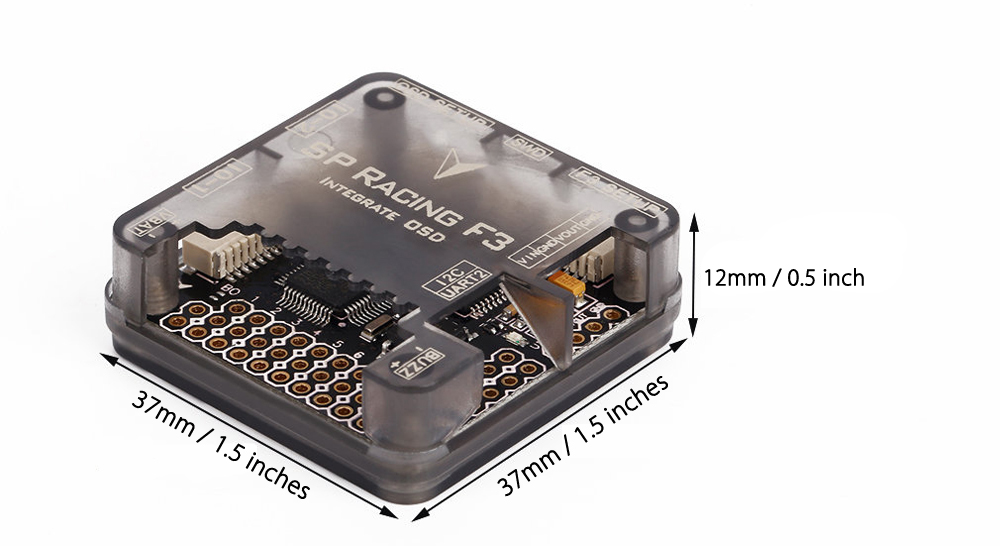 SP Racing F3 10DOF DELUXE Flight Controller with OSD Latest CPU