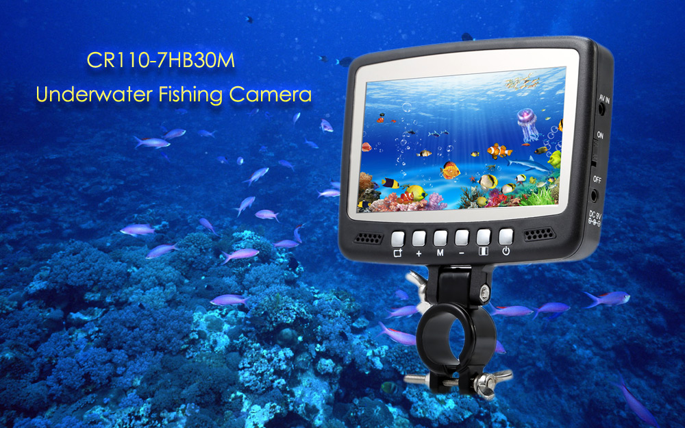 CR110 - 7HB30M 4.3 inches LCD Screen Underwater Fishing Camera with 30m Cable