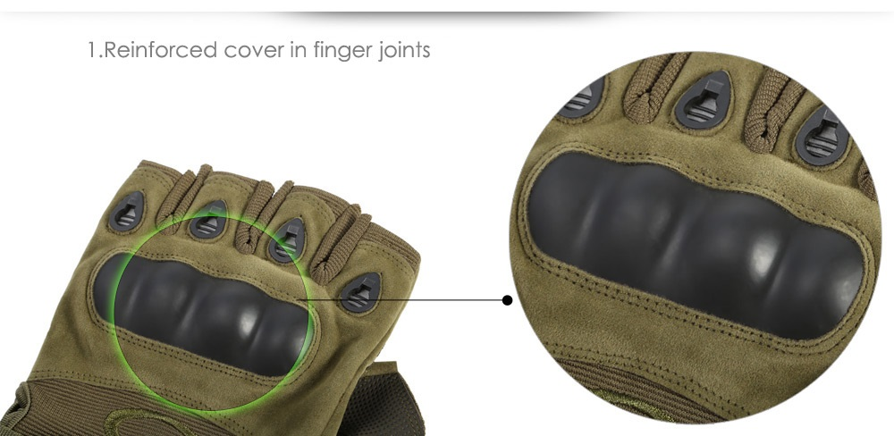 11 - 59 Breathable Half-fingers Cycling Gloves with Nylon Loop