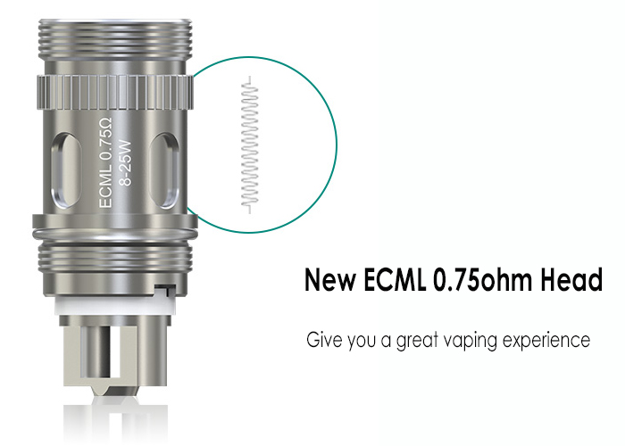 Authentic Eleaf MELO 3 Nano 2ml Clearomizer Tank Atomizer for E Cigarette