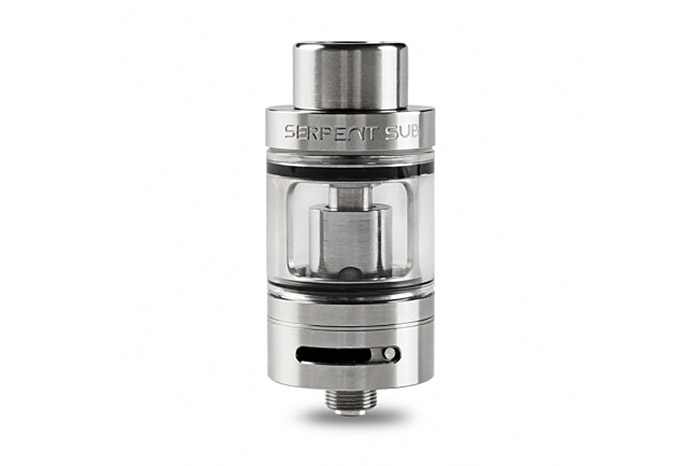 Original Wotofo Serpent Sub Tank Atomizer with 3.5ml / Top Filling / Bottom Airflow Control / No Leakage / 22mm Diameter E Cigarette Clearomizer