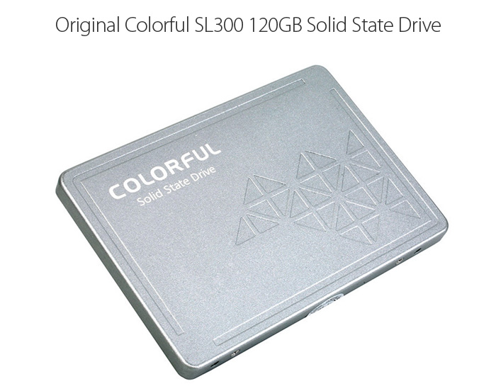 Original Colorful SL300 120GB 3D-MLC Solid State Drive 2.5 inch SATA 3.0 SSD for Computer Component