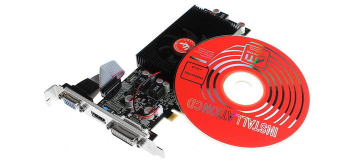 AMD GeForce HD7670 1024MB Graphics Card Support Dual-link DVI