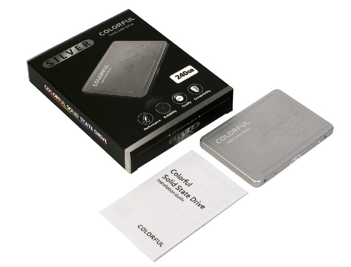 Original Colorful SL500 240GB 3D-MLC Solid State Drive 2.5 inch SATA SSD for Computer Components