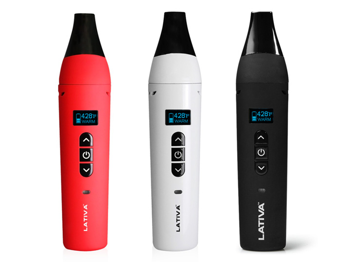 Anlerr LATIVA OLED Display Dry Herb Vaporizer Pen with 2200mAh Battery / 30 Seconds Heating Time