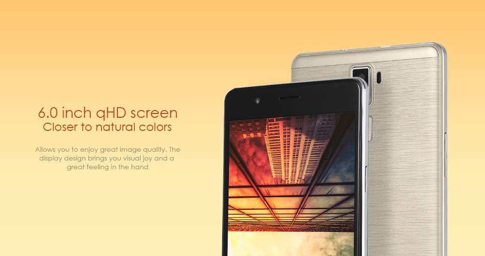Oeina R8S Android 5.1 6.0 inch 3G Phablet MTK6580 Quad Core 2.0GHz 1GB RAM 8GB ROM Gravity Sensor GPS Bluetooth 4.0