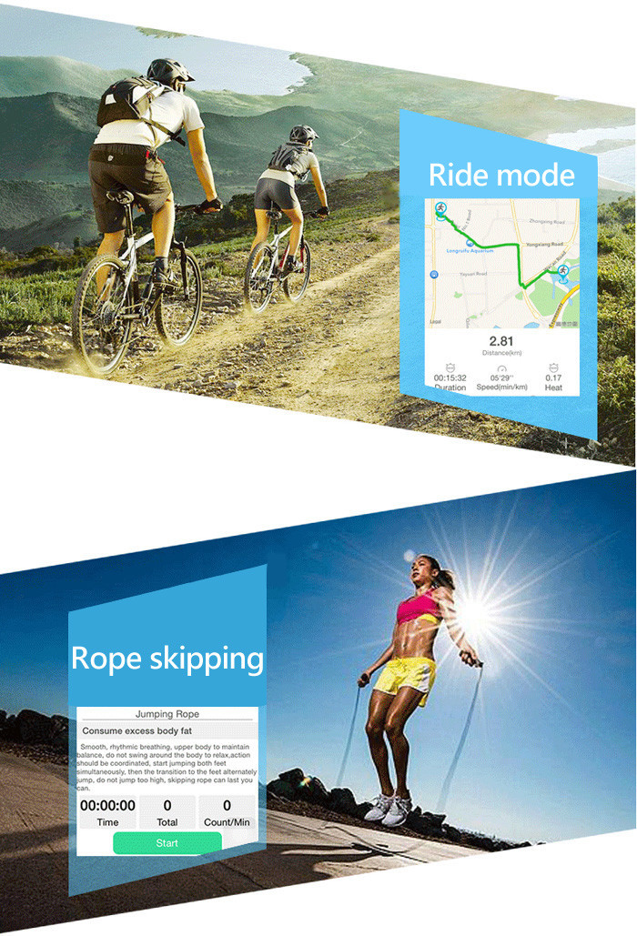 LEMFO E07S Bluetooth 4.0 GPS Sports Tracking Smart Wristband with 7 Days Data Store Function