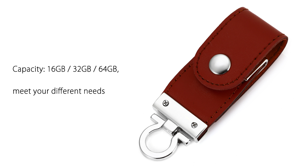 Cuero Portable 2 en 1 de 64 GB Micro USB OTG + USB 3.0 Flash Drive