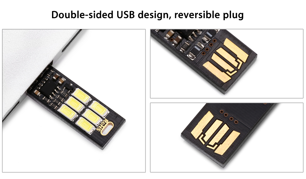 Mini USB LED Módulo de Lámpara 1Pieza