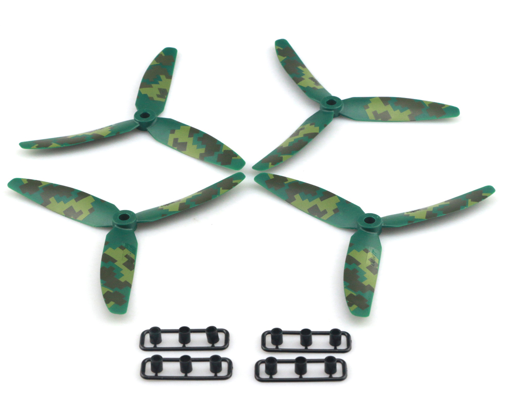 JJRC JJPRO - 5030 12pcs Three-blade Propellers with Camouflage Pattern
