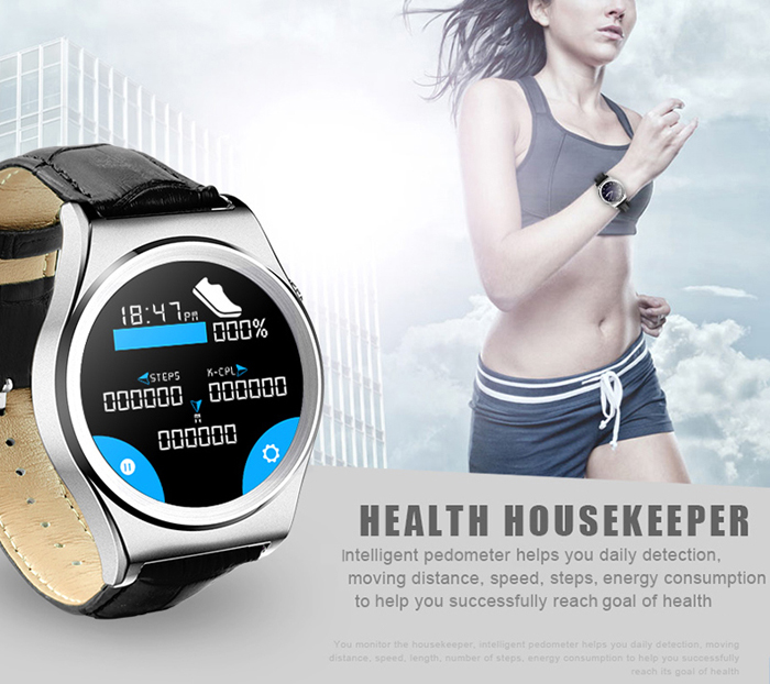 X10 Bluetooth 4.0 Smart Wristband Watch Anti-lost Pedometer Sedentary Reminder