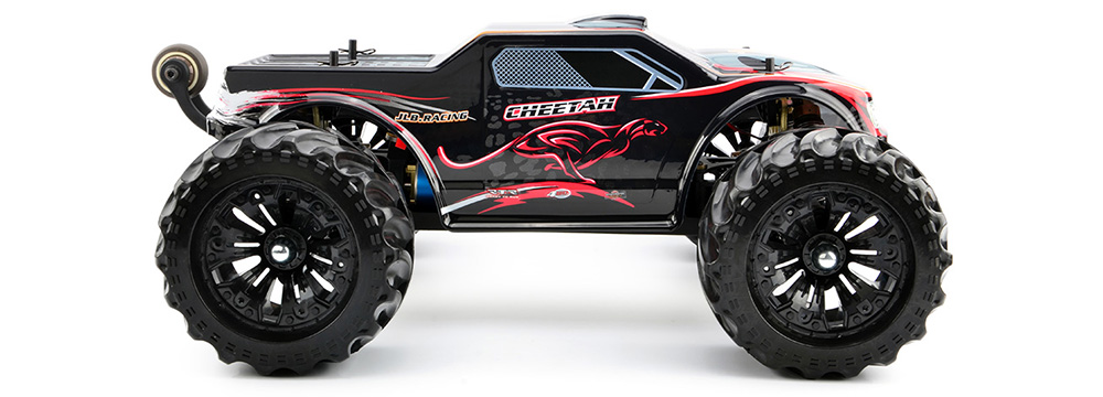 JLB 2.4G Cheetah 4WD 1 / 10 80km / h High Speed Buggy RC RTR Car