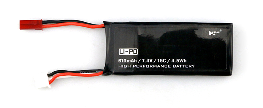 7.4V 610mAh 15C Battery Accessory for Hubsan H502S H502E RC Quadcopter Drone