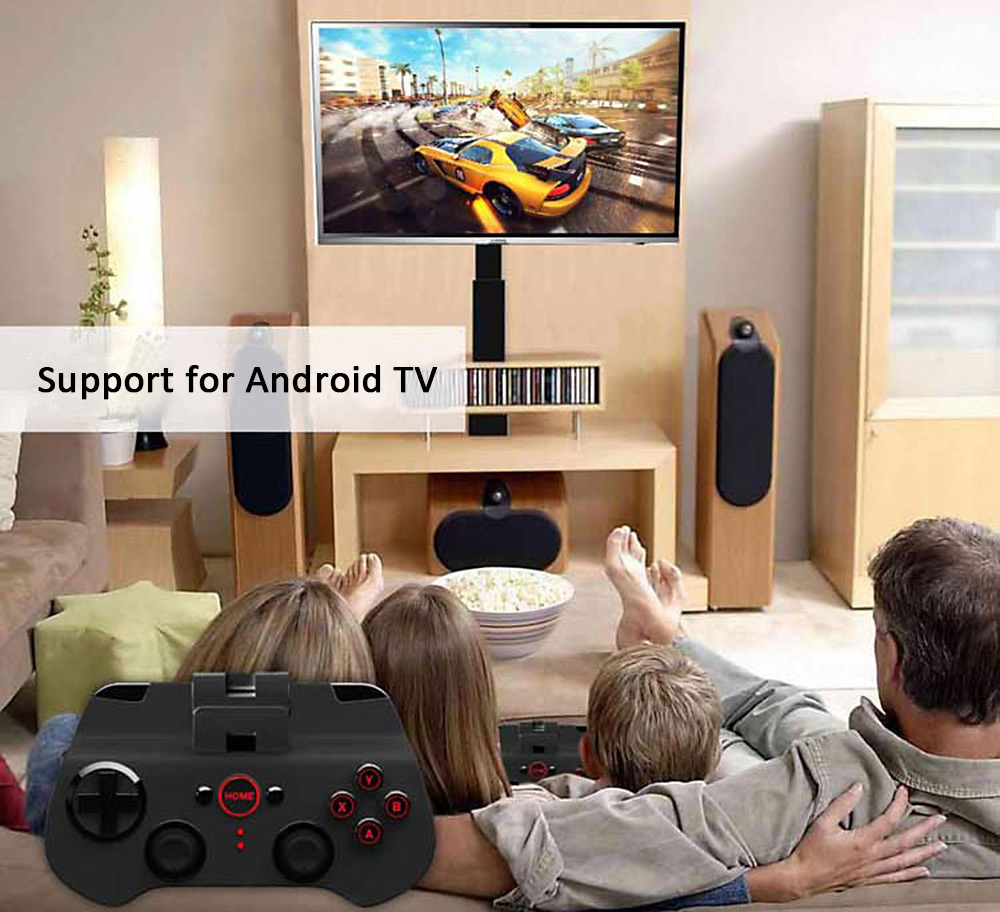 IPEGA PG-9017S Wireless Bluetooth 3.0 Gamepad Game Console with Stand for Android / iOS / Android TV / PC