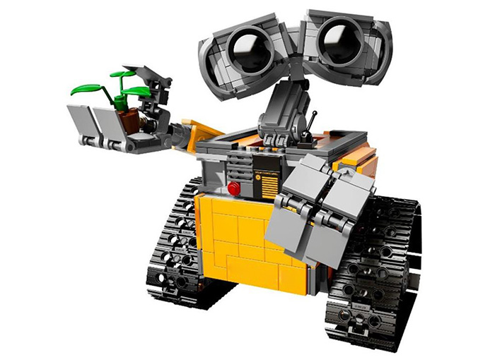 DIY Robot Building Block Kit Science Assembly Toy for Children - 687pcs