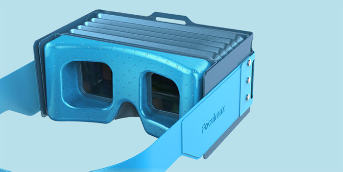 Focalmax Accordion VR Virtual Reality 3D Glasses for 4.5 - 6 inch Smartphone