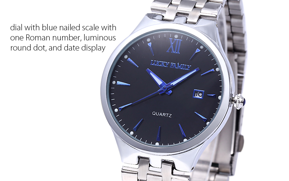 LUCKY FAMILY SG1278 Imported Movement Fashion Quartz Watch for Men