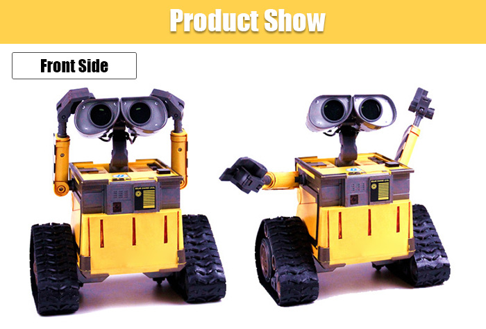Infrared RC Programmable Robot Model with Sound / Light