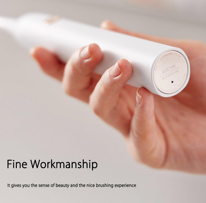 Soocare  X3 Rechargeable Sonic Electric Toothbrush Bluetooth Connectivity Xiaomi Ecological Chain