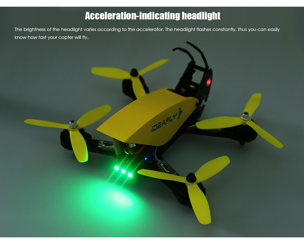 Ideafly Grasshopper F210 Racing RC Quadcopter