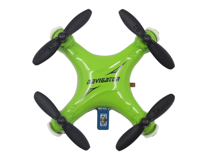 Fayee FY804 4 Channel 2.4G 6 Axis Gyro Headless Mode LED Light 360 Degree Rollover Mini Quadcopter