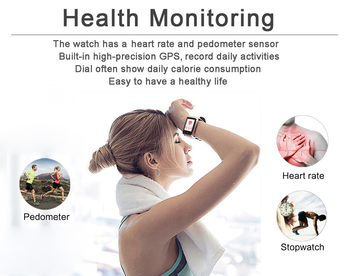 NO.1 S6 Android 5.1 System Wristband Heart Rate Track Smart Watch with Weather Forecast Online Shopping
